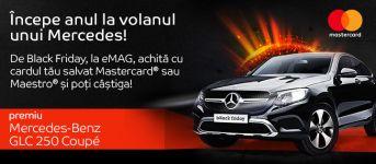Câștigă o mașină Mercedes-Benz GLC250 Coupe