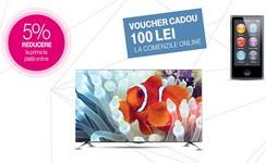 Castiga 3 televizoare Smart LG 4K si 21 playere iPod Nano 16 GB
