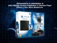 Castiga o consola PlayStation 4 Ultimate Player Edition