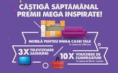 Castiga 4 vouchere IKEA in valoare de 12.000 euro, 12 televioare LED Samsung 4K Ultra HD 101 cm si 40 vouchere eMAG SuperMarket in valoare de 20.000 de lei