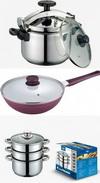Castiga 2 oale de gatit si o tigaie ceramica