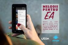 Castiga un smartphone UTOK Q5 GT si 5 vouchere de 3 luni gratuite Zonga