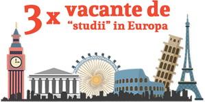 Câștigă 3 excursii în parcuri de distracție tematice din Europa