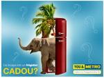 Castiga un frigider Gorenje design Retro, plin cu surprize