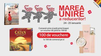 Câștigă zilnic 100 vouchere Elefant