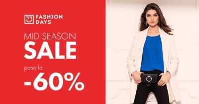 Câștigă 20 vouchere Fashion Days în valoare de 500 lei fiecare