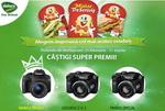 Castiga un aparat foto DSLR Canon D100 sau 3 aparate foto Fujifilm S4800