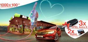 Câștigă 3 mașini Opel Astra K și 1.000 carduri carburant în valoare de 100 lei