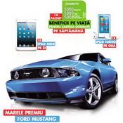 Castiga o masina Ford Mustang V6, 57 iPad Mini si 456 iPod Nano