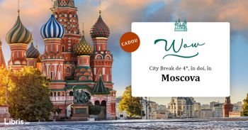 Câștigă un city break de 4 stele la Moscova