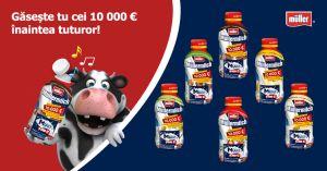 Câștigă 10.000 de euro cu văcuța Mullermilch