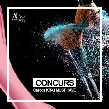 Câștigă 3 premii Melkior constând în câte 5 produse de makeup la alegere