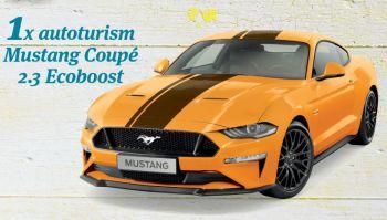Câștigă o mașină Mustang 2.3 Coupe Ecoboost