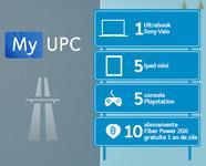 Castiga un ultrabook Sony Vaio, 5 iPad Mini, 5 consola Playstation si 10 abonamente UPC Fiber Power 200