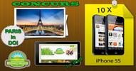Castiga 10 iPhone 5S, un iPad si o vacanta la Paris