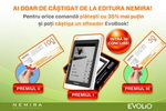 Castiga un ebook reader EvoBook