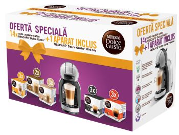 Câștigă garantat un espressor Nescafe Dolce Gusto Mini Me