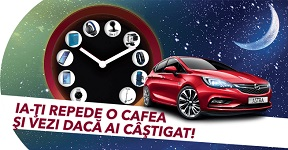 Castiga o masina Opel Astra K Enjoy si 320 super premii