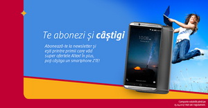 Câștigă un smartphone ZTE Axon 7 Mini