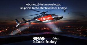 Pregătește-te pentru eMAG Black Friday
