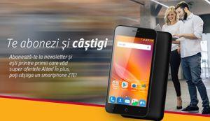 Câștigă un smartphone ZTE Blade A601