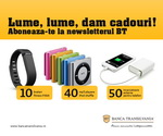 Castiga 10 bratari Fitbit, 40 iPod Shuffle si 50 acumulatori externi pentru telefon