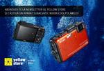 Castiga un aparat foto subacvatic Nikon Coolpix AW110