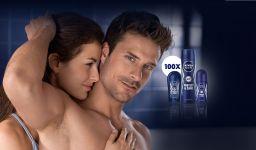 Castiga 100 de seturi de deodorante Nivea Men Protect & Care