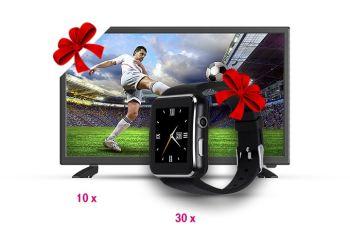 Câștigă 10 televizoare Vortex și 30 smartwatch Myria