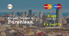 Castiga o vacanta la Barcelona si 8 televizoare Smart TV Led LG