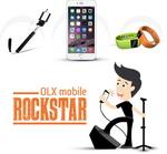 Castiga un iPhone 6, 25 bratari fitness si 100 selfie stickuri