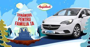 Câștigă o mașină Opel Corsa 1.4 90CP Enjoy