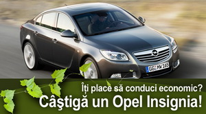 Castiga o masina Opel Insignia