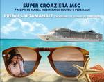 Castiga o croaziera pe Mediterana si 7 perechi de ochelari de soare Polaroid