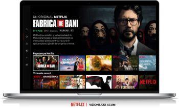 3 luni gratuite Netflix cu Orange Love