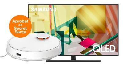Câștigă 3 televizoare Samsung QLED Smart TV și 3 aspiratoare Xiaomi Mi Robot