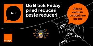 Black Friday la Orange: alege produsele la care vrei sa primești reducere