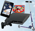 Castiga 100 de premii de la Cavit: console, tablete, trotinete sau jucarii