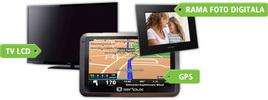 Castiga un televizor led Philips, un sistem GPS Garmin Nuvi si o rama foto digitala E-Boda