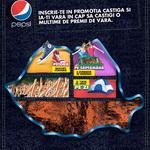 "Concurs ""Castiga si ia-ti vara in cap"": castiga 64 de weekend-uri, 60 de corturi, 480 perechi de bascheti Converse si 3 milioane de sticle de Pepsi Twist Lemon"
