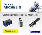 Castiga saptamanal un organizator portbagaj, o lanterna si un termos Michelin