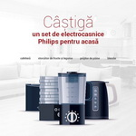 Castiga un set de electrocasnice Philips