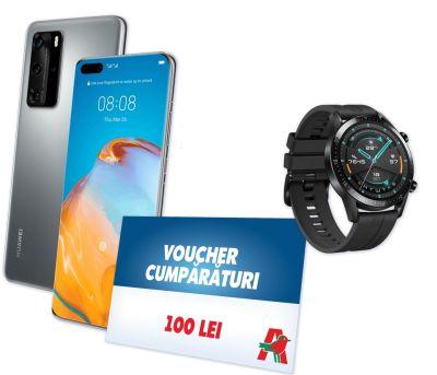 Câștigă 3 telefoane mobile Huawei P40 Pro