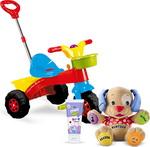 Castiga 3 jucarie educative, 2 triciclete si 10 seturi de produse Happy