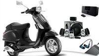 Castiga un scuter Vespa si alte 9 premii Logitech