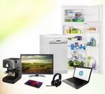 Castiga un laptop HP, un frigider Zanussi, o masina de spalat vase Arctic si alte 4 premii