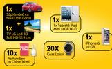 Castiga un iPhone 6, un iPad Mini, un televizor led LG, 10 parfumuri si 20 de ceasuri