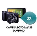 Castiga 3 aparate foto Samsung Galaxy Camera si 10 premii  Purina One pentru 6 luni