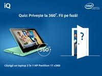 Castiga un laptop HP Pavilion 11 x360