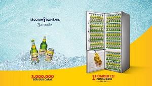 Câștigă 62 frigidere Whirlpool pline cu bere Bergenbier sau 3 milioane de beri Bergenbier